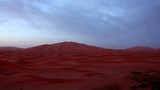 early morning view from the top of the sand dunes in the sahara dessert Morocco - 236392458