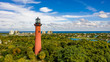 Jupiter Inlet Lighthouse at Christmas