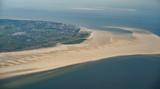 Ostfriesische Inseln, Borkum, Luftaufnahme von Norden