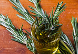 Olive oil and fresh rosemary - 236402240