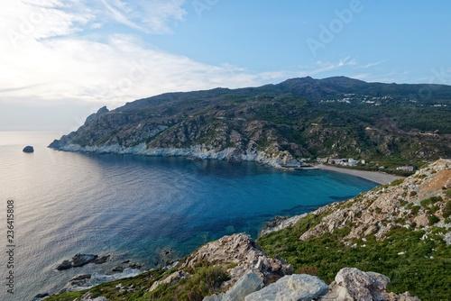 Leinwanddruck Bild Korsika - Cap Corse - Marine de Giottani