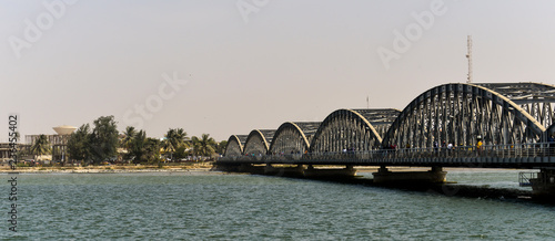 Pont Faidherbe , Saint Louis, Sénégal