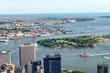 Manhattan Upper Bay, aerial view