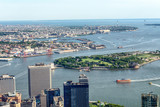 Manhattan Upper Bay, aerial view © dade72