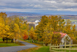 The Mohawk Valley of New York State is ablaze with late October colors.