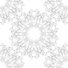 lace seamless geometric abstract pattern