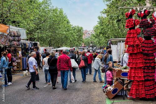 Madrid, Markt