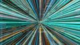Light FX2200: Traveling through a maze of high energy light streaks (Loop). - 236501480