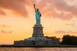 New York, Amazing sunset