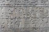 retablos mayas de piedra de la cultura antigua mexicana