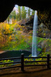 South Falls At Silver Falls State Park, fall season,USA - 236545697