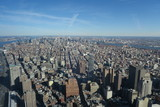 New York von Oben - Wolkenkratzer Skyline