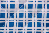 Cotton fabric texture, blue checkered