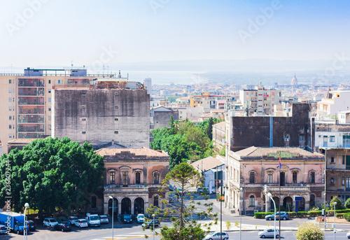 Travel to Italy -  beautiful cityscape of Catania, Sicily - 236607244
