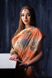 Portrait of elegant Indian woman