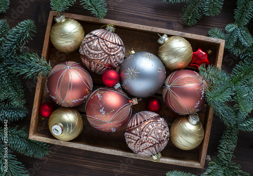 Christmas tree decorations  - 236616442