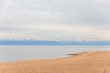 Beautiful landscape, Issyk-Kul lake, Bosteri, Kyrgyzstan