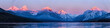 landscape with mountains and lake - 236630834