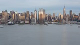 New York City Skyline from day to night - 236633642