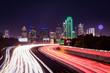 Dallas Skyline Traffic