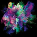 Computing Colorful Paint Splash Explosion - 236652652