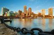 Boston Financial District at Sunrise, Boston, Massachusetts - 236655822