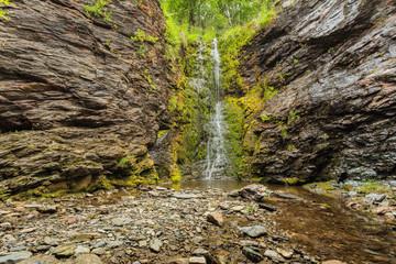 Little waterfall in mountains, Norway. © anetlanda