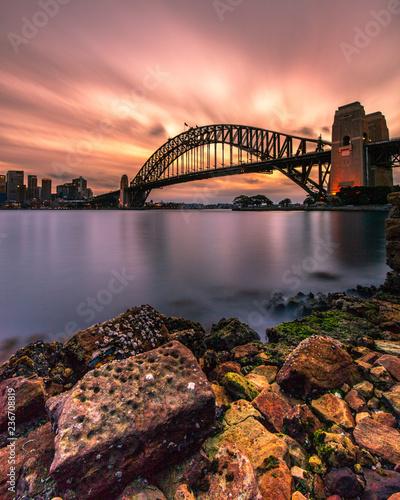 fototapeta na ścianę Sydney Harbour Sunset