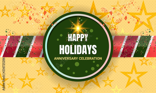 anniversary celebration background design for party birthday new year christmas holiday and