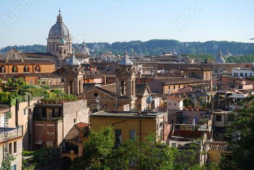 City view of Rome from Viale della Trinità dei Monti - 236726808