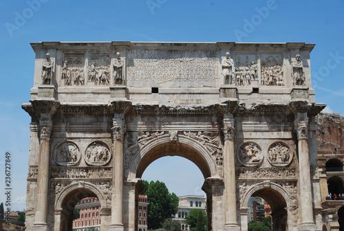 fototapeta na ścianę View of Colosseum - Rome, Italy.