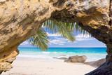 Plage paradisiaque des Seychelles
