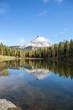 Leinwandbild Motiv Spiegelung im Lago Antorno