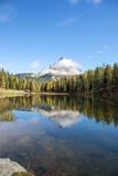 Spiegelung im Lago Antorno © Holger
