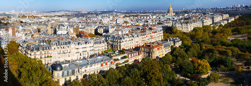 Panorama of Paris with Hotel des Invalides - 236761891