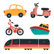 vehicle collection vector design
