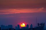Sunset Sky Background in summer - 236773812