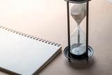 Sand clock, business concept teamwork & time management - 236775266