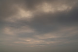 Cloudy sunset sky background - 236775468