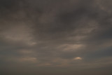 Cloudy sunset sky background - 236775609