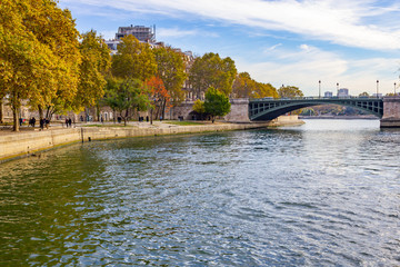 Bridge over Sena river
