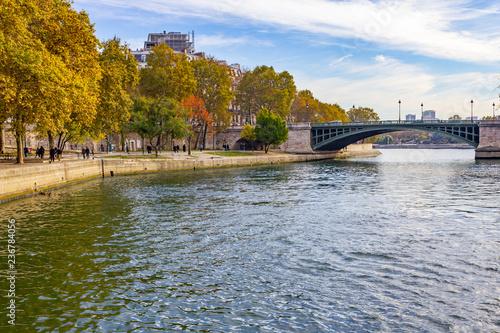 Plakat Bridge over Sena river
