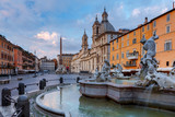 Rome. Navona Square. Piazza Navona. - 236794643