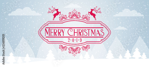 merry christmas card - 236819201