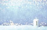 1. Advent Hintergrund Himmel Nacht Bokeh Sonntag - 236825291