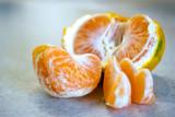 Slices of tangerine