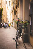 Bicycle in Florence streets