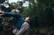 Romantic couple enjoying the rain - 236865218