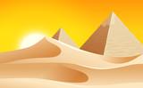 A hot desert landscape - 236892038