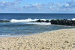 Waves Crashing on Beach at Long Branch, New Jersey -1
